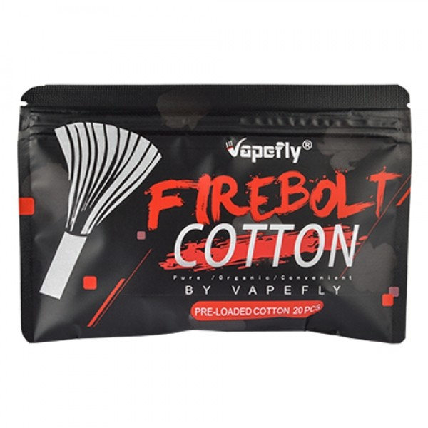 Vapefly Firebolt Cotton Strands Watte / Wattesticks