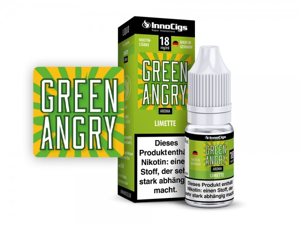 Green Angry Limetten Aroma